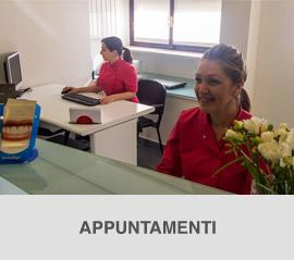 Studio dentistico Molfino. Prendere un appuntamento.