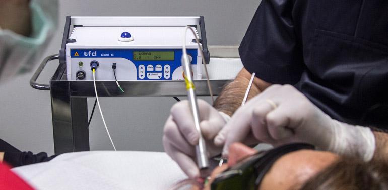 Studio dentistico Molfino. Laser terapia.